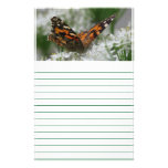 Painted Lady Butterfly - Lined Stationery Design