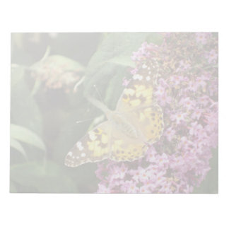 Painted Lady Butterfly Memo Notepads