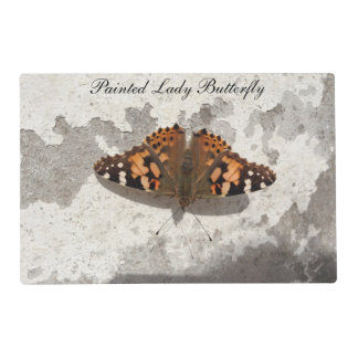 Painted Lady Butterfly Placemat by Deb Vincent