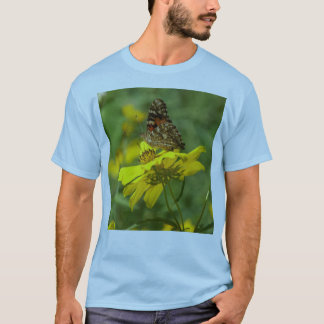 Painted Lady Butterfly Shirt. T-Shirt