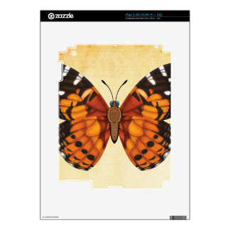 Painted Lady Butterfly Skins For The iPad 2