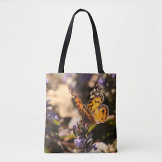 Painted Lady Butterfly Tote Bag