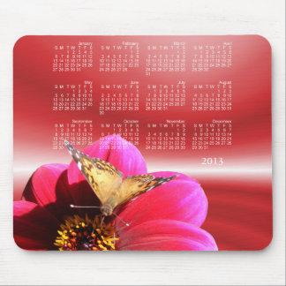 Painted Lady Calendar ~ mousepad