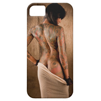 Painted lady iPhone SE/5/5s case