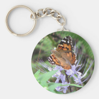 Painted Lady Keychain