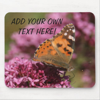 Painted Lady Mousepad