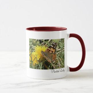 Painted Lady Mug