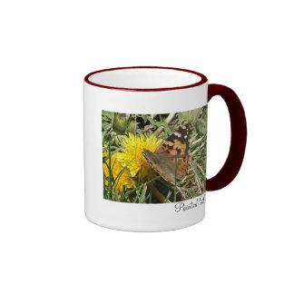 Painted Lady Ringer Coffee Mug