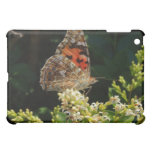 painted lady on the hedge iPad mini cover