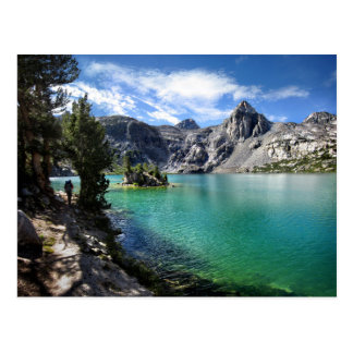 Painted Lady on Upper Rae Lake 2 - John Muir Trail Postcard