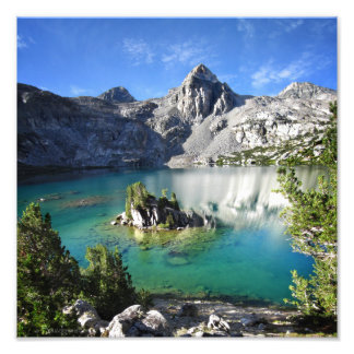 Painted Lady on Upper Rae Lake - John Muir Trail Photographic Print