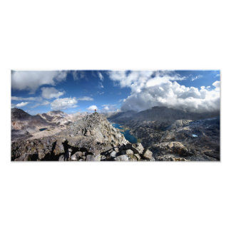 Painted Lady Over Rae Lakes - John Muir Trail Art Photo