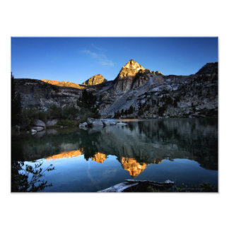 Painted Lady Sunset Upper Rae Lake John Muir Trail Photographic Print