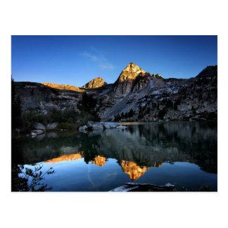 Painted Lady Sunset Upper Rae Lake John Muir Trail Postcard