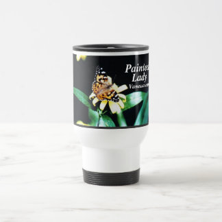 Painted Lady, Vanessa cardui Travel Mug