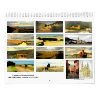 Painted Landscapes along the Camino de Santiago Calendar