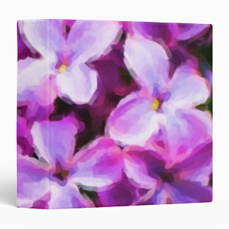 "Painted Lilacs 2"" Photo Album Binders"
