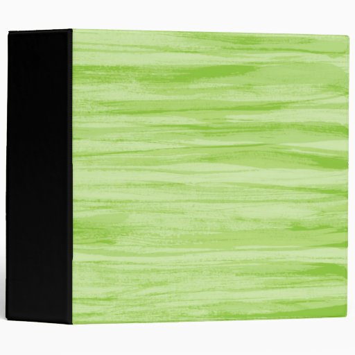 Painted lime green texture binder