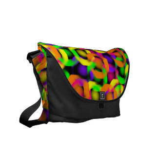 Painted Links Messenger Bag
