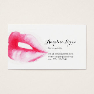 Painted Lips Business Card