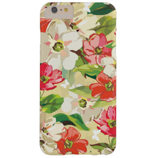 Painted Look Floral Barely There iPhone 6 Plus Case
