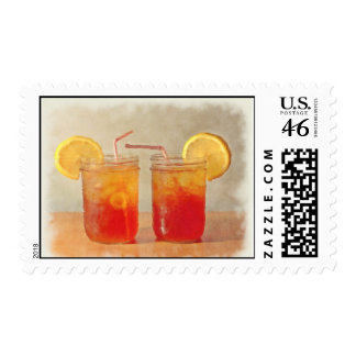 Painted Look Sweet Tea for Two Stamps