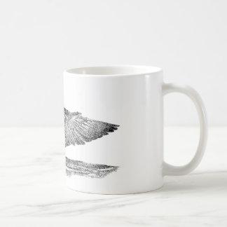 Painted Loon Classic White Coffee Mug