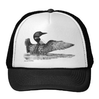 Painted Loon Hat