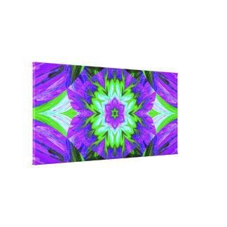 Painted Lotus 2 C SDL Canvas Print