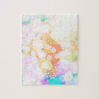 Painted Love Bokeh Jigsaw Puzzle