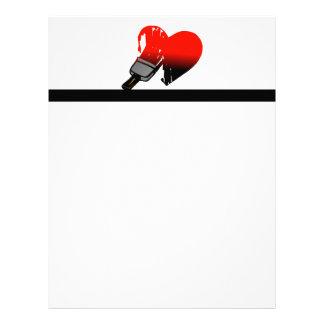 Painted Love Letterhead