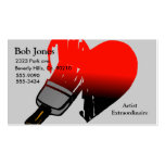 Painted Love Set Business Card Template
