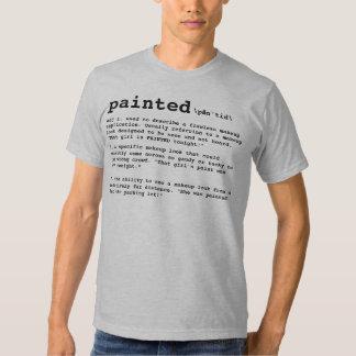 PAINTED, Makeup Artist Definition T-Shirt