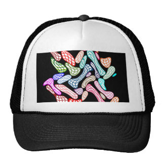 Painted Marbles Pebbles Art Trucker Hat