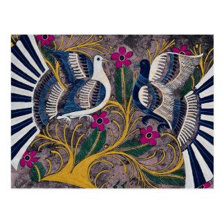 Painted Mexican design, Cuernavaca, Mexico Postcard