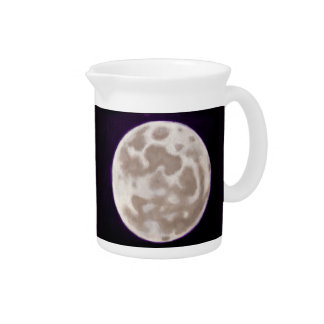Painted Moon Drink Pitcher