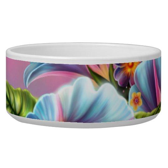 Painted Morning Glories Bowl