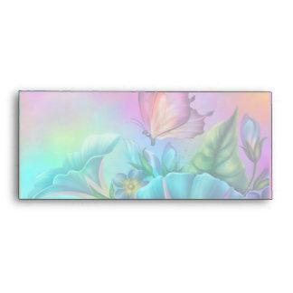Painted Morning Glories Envelopes