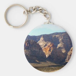 Painted Mountains Keychains