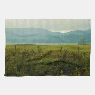 Painted Mountains Towel