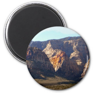 Painted Mountains Magnet