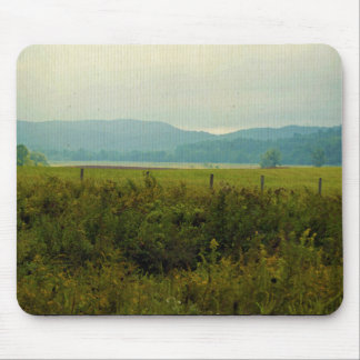 Painted Mountains Mouse Pad