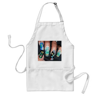 Painted Nails Aprons