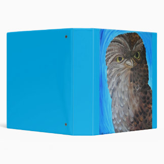 Painted Nature Owl Binder