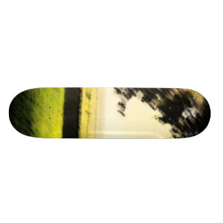 Painted Nature Skate Deck