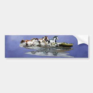 Painted Ocean Bumper Stickers