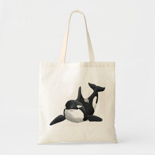 Painted Orca Bag