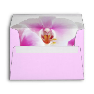 Painted Orchids Envelope