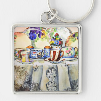 Painted Painted China Keychain