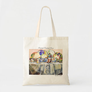 Painted Painted China Tote Bag